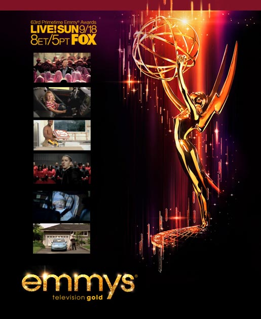 Emmys 2011 TV commercials