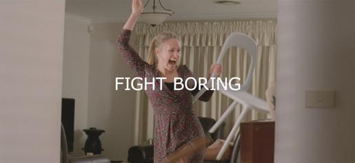 IKEA Have a Go advertisement - Fight Boring