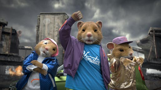 Kia Hamsters Shuffling Share Some Soul