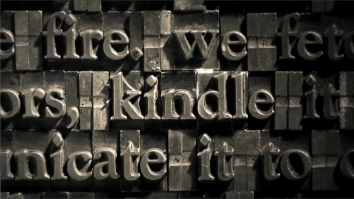 Amazon Kindle Fire Typeface