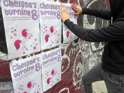 Chelsea's Turning 8 - Posters