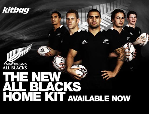 Kitbag All Blacks Home Kit