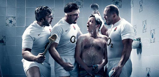 O2 Get Up For England team
