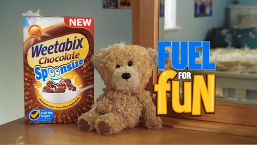 Weetabix Teddy Bear Fuel For Fun