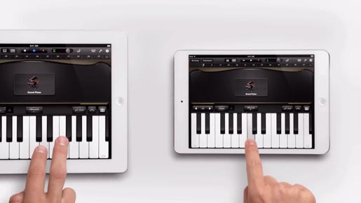 Apple iPad Mini Piano ad