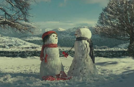 John Lewis The Journey snowman