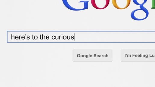 Google Zeitgeist Here's to the Curious