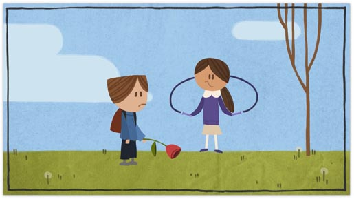 Google Valentine's Day Couple