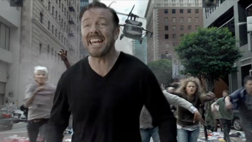 Ricky Gervais in Time Warner Cable Enjoy Better Anthem