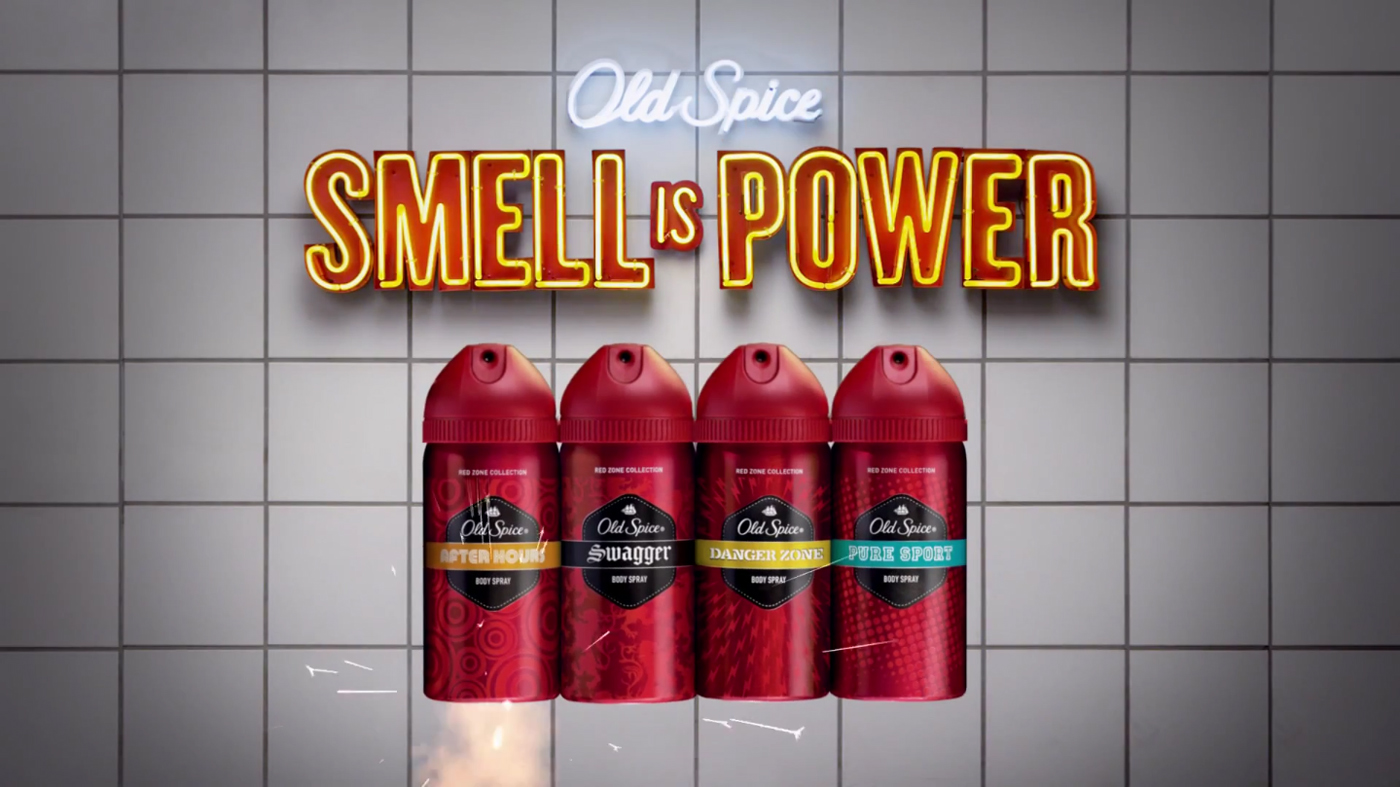 Old Spice Logo 2012 Old Spice Smell is Pow...