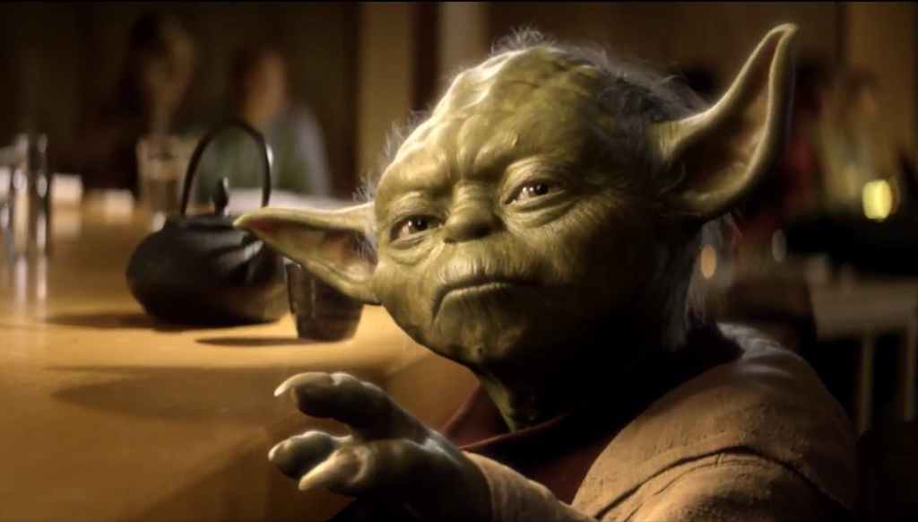 Vodafone With Yoda The Inspiration Room