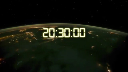 Earth Hour France 20:30:00