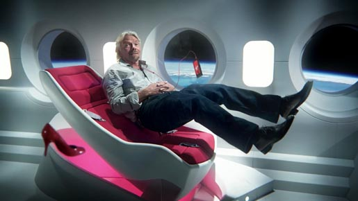 Richard Branson Boy In Space