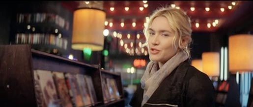 Kate Winslet in Sky Store commercial