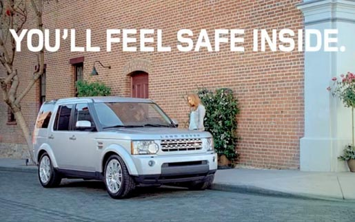 Land Rover Pathological Liar commercial