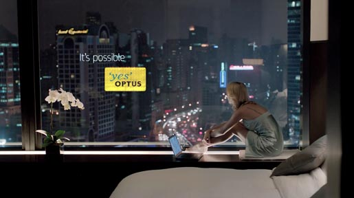 Optus It's Possible in Shanghai