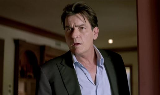 Charlie Sheen Reborn in Bavaria beer commercial