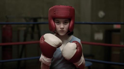Nike Voices Girl boxing