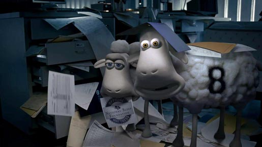 Serta Mattress Heist sheep