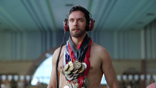 Old Spice Champion with Medals I Will Live Forever