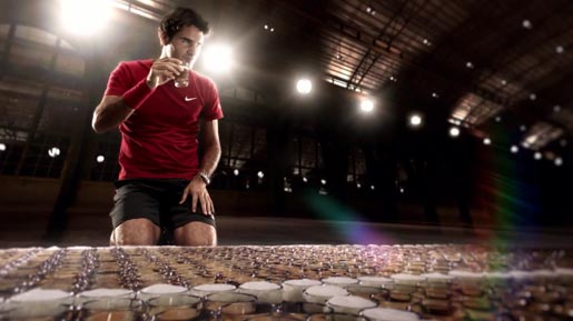 Roger Federer drinks Jura coffee