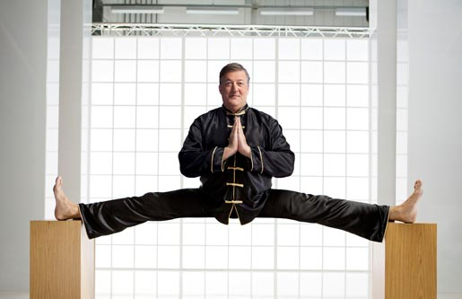 Stephen Fry in Virgin Media Kung Fu ad