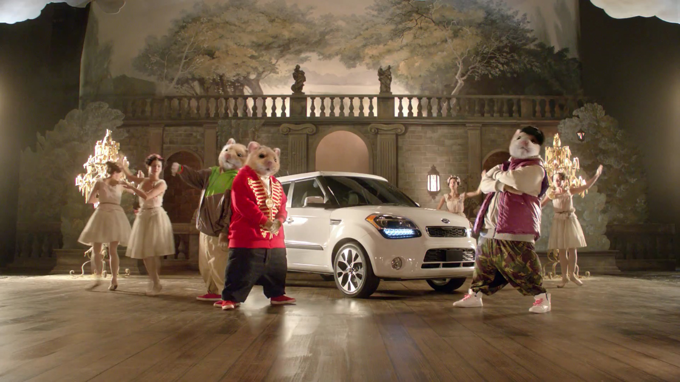 Kia Hamster Commercial >> Kia Hamsters Bringing Down The House - The Inspiration Room
