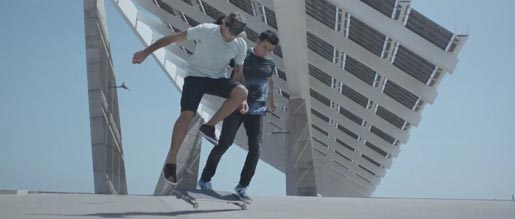 Smart Skate for Two commercial