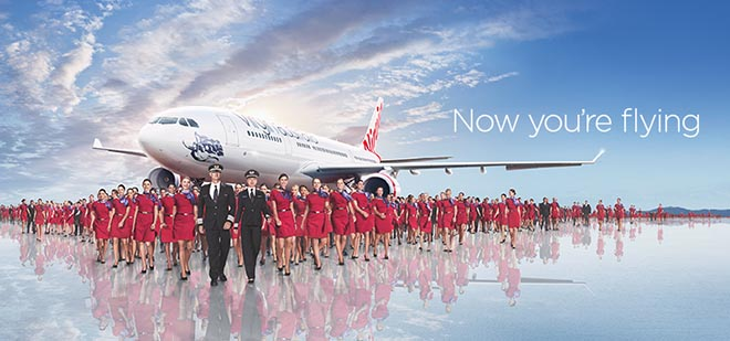 Virgin Australia Now You're Flying