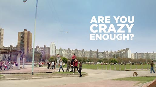 Are You Crazy Enough - Coca Cola Crazy for Good