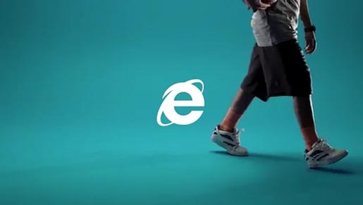 Internet Explorer Child of the 90s