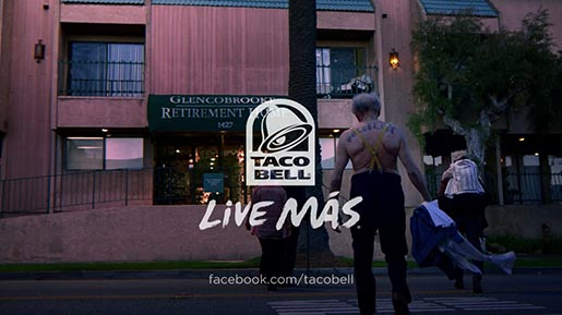 Taco Bell Live Mas Retirement Home