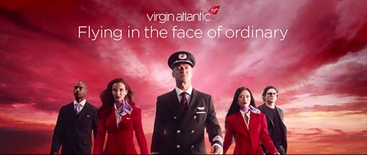 Virgin Atlantic Flying in the Face of Ordinary