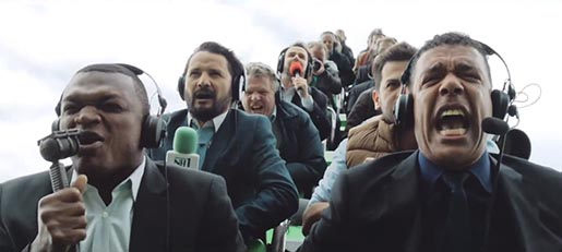 Carlsberg The Ride Commentators