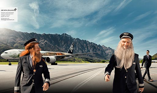 Air New Zealand Middle Earth Captains
