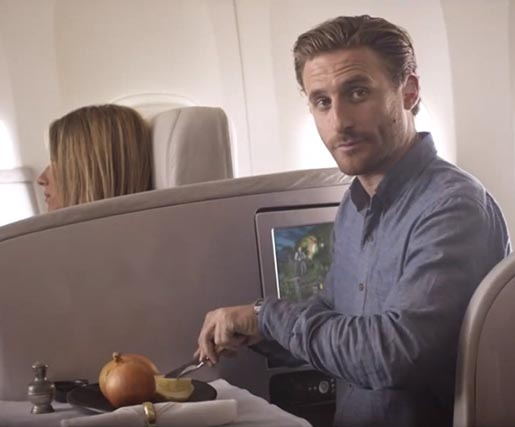 Air New Zealand Middle Earth Fili