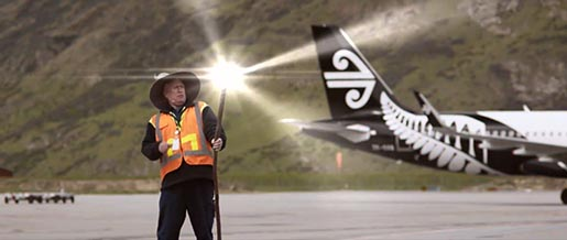 Air New Zealand Middle Earth Staff