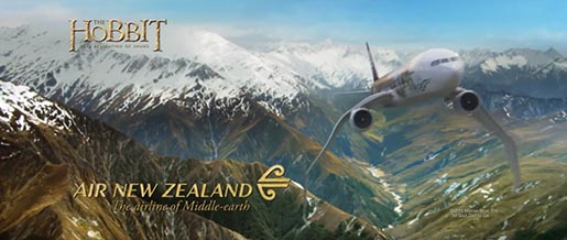 Air New Zealand Middle Earth Wings