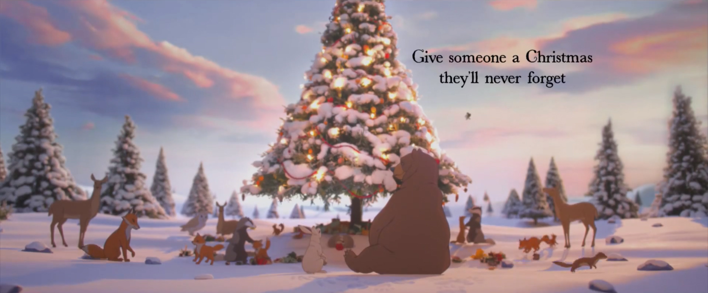 John Lewis The Bear & The Hare for Christmas 2013 - The Inspiration Room