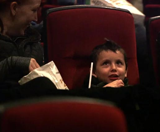 SickKids Antonio in cinema