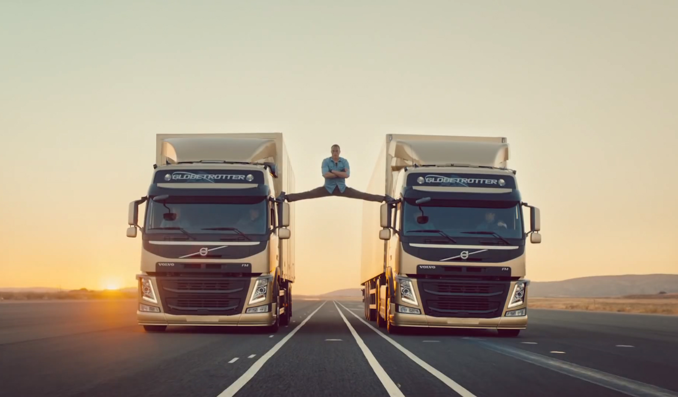 Volvo Trucks - The Epic Split featuring Van Damme - The Inspiration
