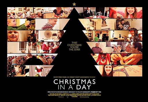Sainsbury's Christmas in a Day Poster