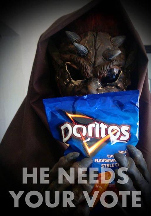 Doritos Peacekeeper Needs Your Vote