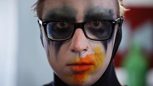 Youtube Rewind 2012 Face Paint