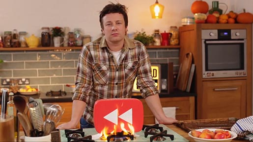 Youtube Rewind 2012 Jamie Oliver