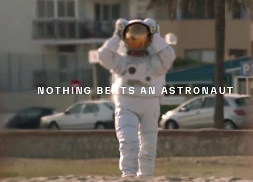 Axe Nothing Beats An Astronaut