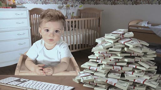E*Trade Baby Save It commercial