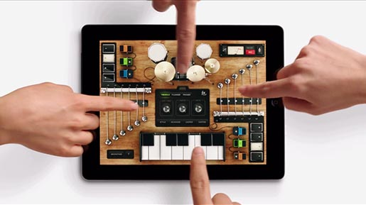 iPad Together commercial Music Fingers