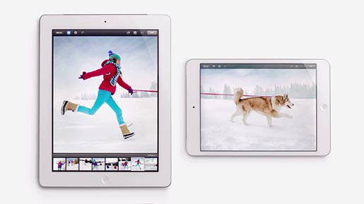 iPad Together commercial Snow Dog