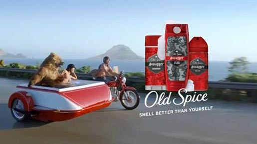 Old Spice Swagger Motorcycle